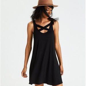 💕NWT💕AEO SOFT & SEXY CROSS-BACK DRESS